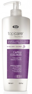 Lisap TOP CARE Color Care Kwaśny szampon po farbowaniu 1000ml